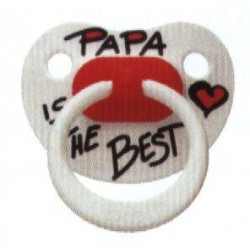 "bibi Nuggi ""Papa is the best"""