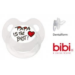Dentalnuggi mit Ring, 16 + Monate: Papa is the best