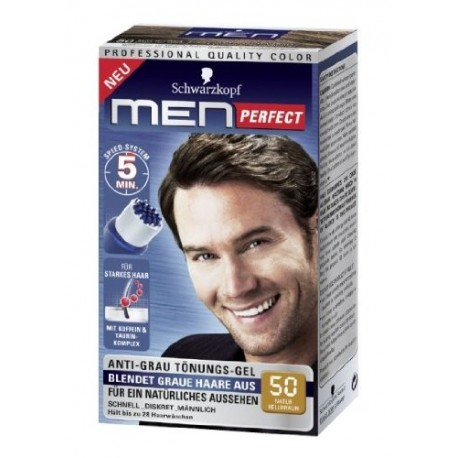 Schwarzkopf Men Perfect: 50 Natur Hellbraun
