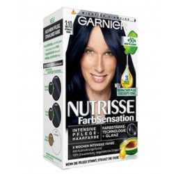 Garnier Nutrisse Farb Sensation, Mitternachtsschwarz 3.10