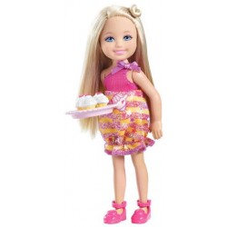 Barbie Chelsea mit Torte