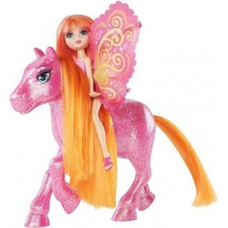 Barbie Kleine Glitzerfee mit Pony, orange