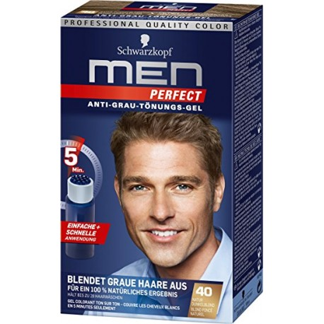 Schwarzkopf Men Perfect: 40 Natur Dunkelblond