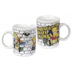 Simpsons Tasse: Springfield Skate Crew