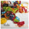 Paper Design Servietten: colorful party