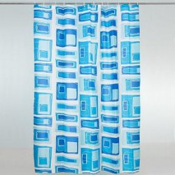 Duschvorhang Blue Ice