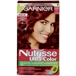 Garnier Nutrisse Farb Sensation (Intensiv Coloration), Intensiv-Rot 6.60
