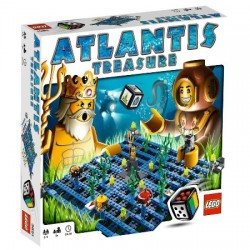 Atlantis Treasure Lego