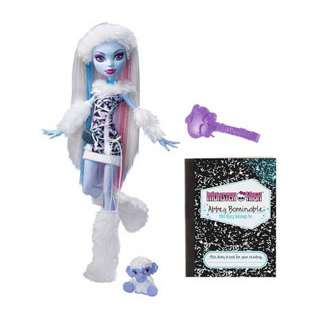 Monster High Puppe: Abbey Bominable